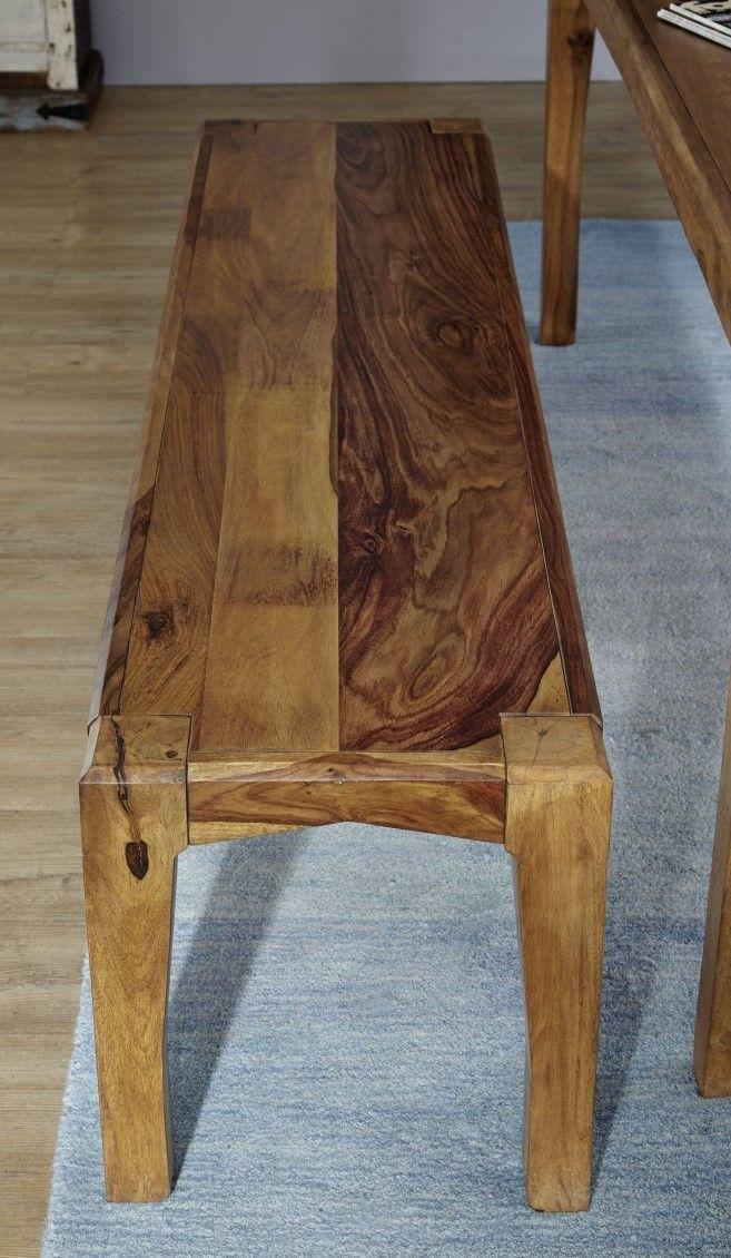 Palisanderholz Fur Moderne Sitzbank Massiv Mobel Haus Deko Skandinavische Mobel