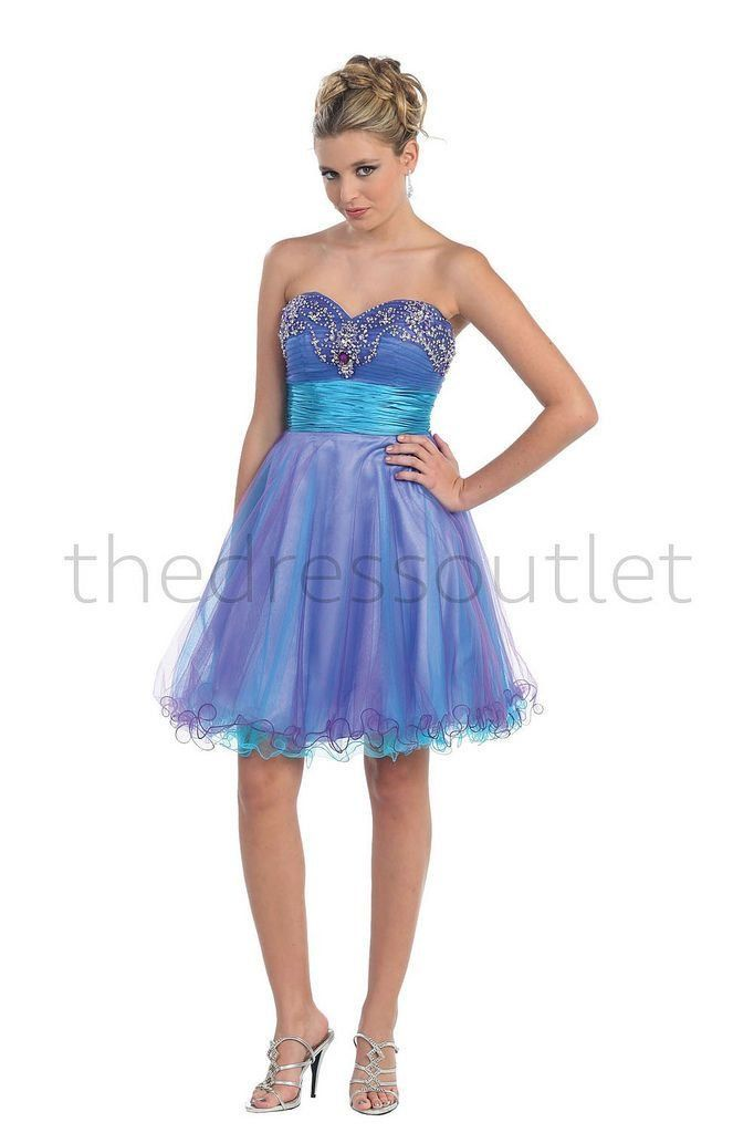 Short Prom Strapless Formal Dress Sassy Cocktail Homecoming The