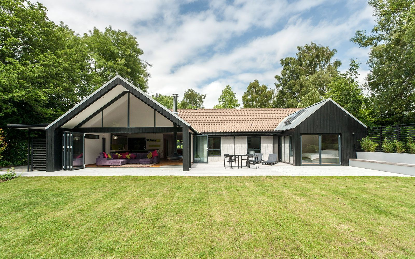 Bildergebnis f r contemporary bungalow design haus for Modern house designs uk