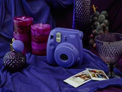 Câmera Instantânea Fujifilm Instax Mini 8 Uva - Flash Automático com as melhores condições você encontra no Magazine Siarra. Confira!