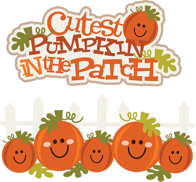 Pumpkin patch. Cutest in the svg