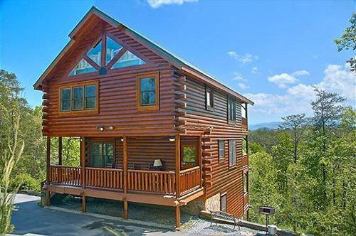 Timeless View 4 Bedroom Vacation Cabin Rental In Pigeon Forge, TN
