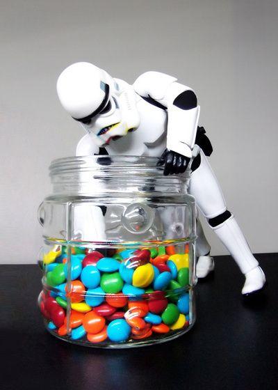 Stormtrooper Sneaking Treats