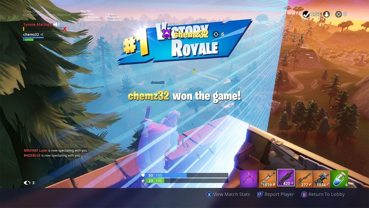 Getting Carried By A Pro Console Player To A 6 Kill Duo Win In Fortnite Fortnite Tyrone Players