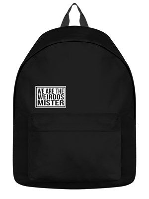 5f96f5f13 We Are The Weirdos Mister Black Backpack in 2019 | Bags | Backpacks ...