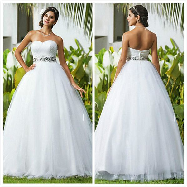 Cheap Elegant Sweetheart Wedding Dresses Elegant New Arrival ...