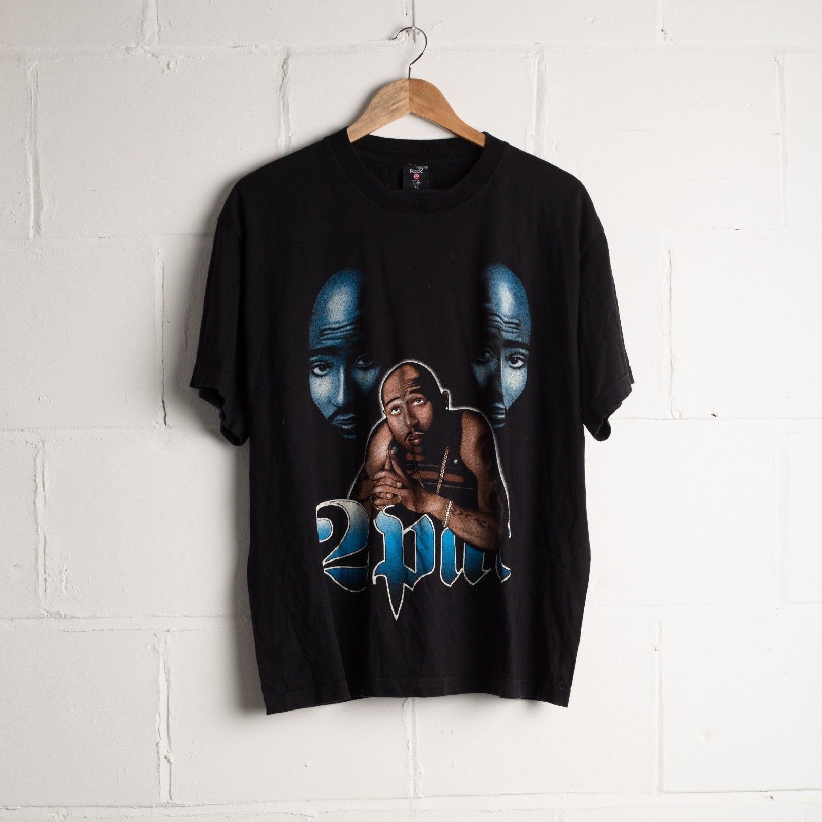 Vintage 90s Tupac Shakur 2pac Rap Hip Hop T Shirt Size Xl Odziez Buty I Dodatki Odziez Vintage Odziez Meska Vintage Eba Vintage Tshirts Mens Tops Shirts