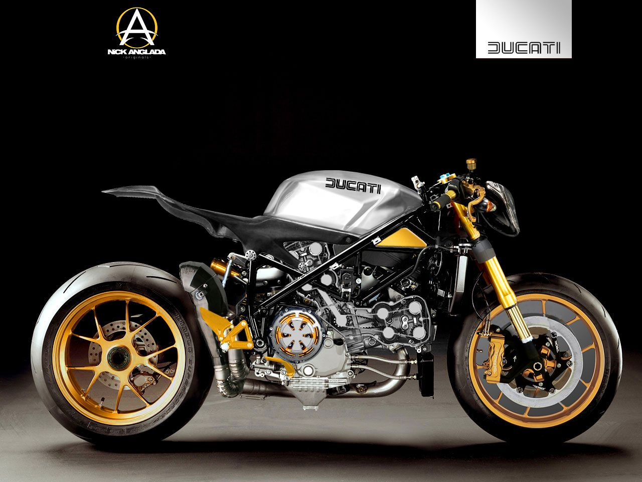 1098 Ducati Cafe Fighter