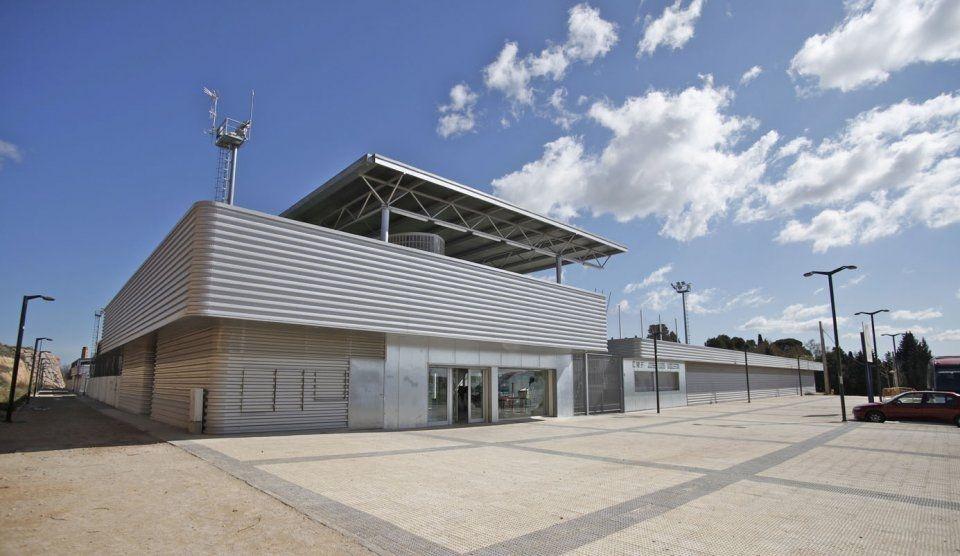 Eurofinsa ampliaci n y mejora de las instalaciones del for Polideportivo ciudad jardin