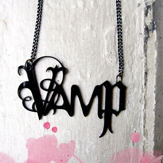 Vamp Necklace by PopEtiquette << Want.