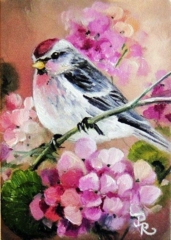 30 best canvas painting ideas for beginners birds pinterest