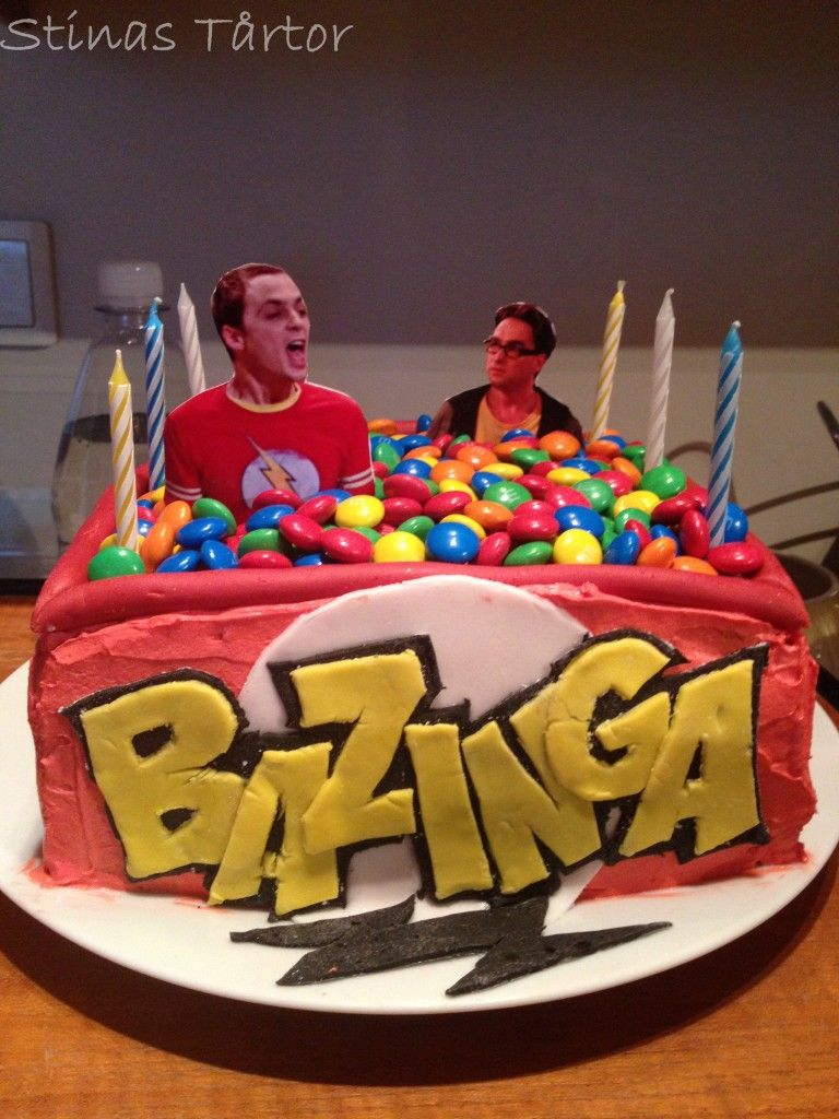 Bazinga! For my little brother's 16'th birthday. https