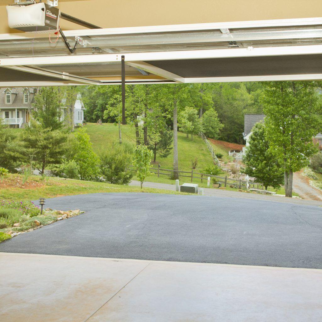 Retractable Screen For Garage Door Opening Garage Workshop