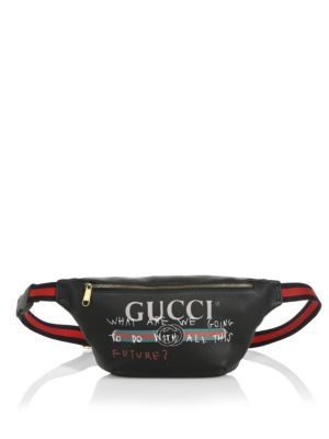 8e264b89b998 GUCCI Fake Waist Bag. #gucci #bags #leather #belt bags #nylon ...