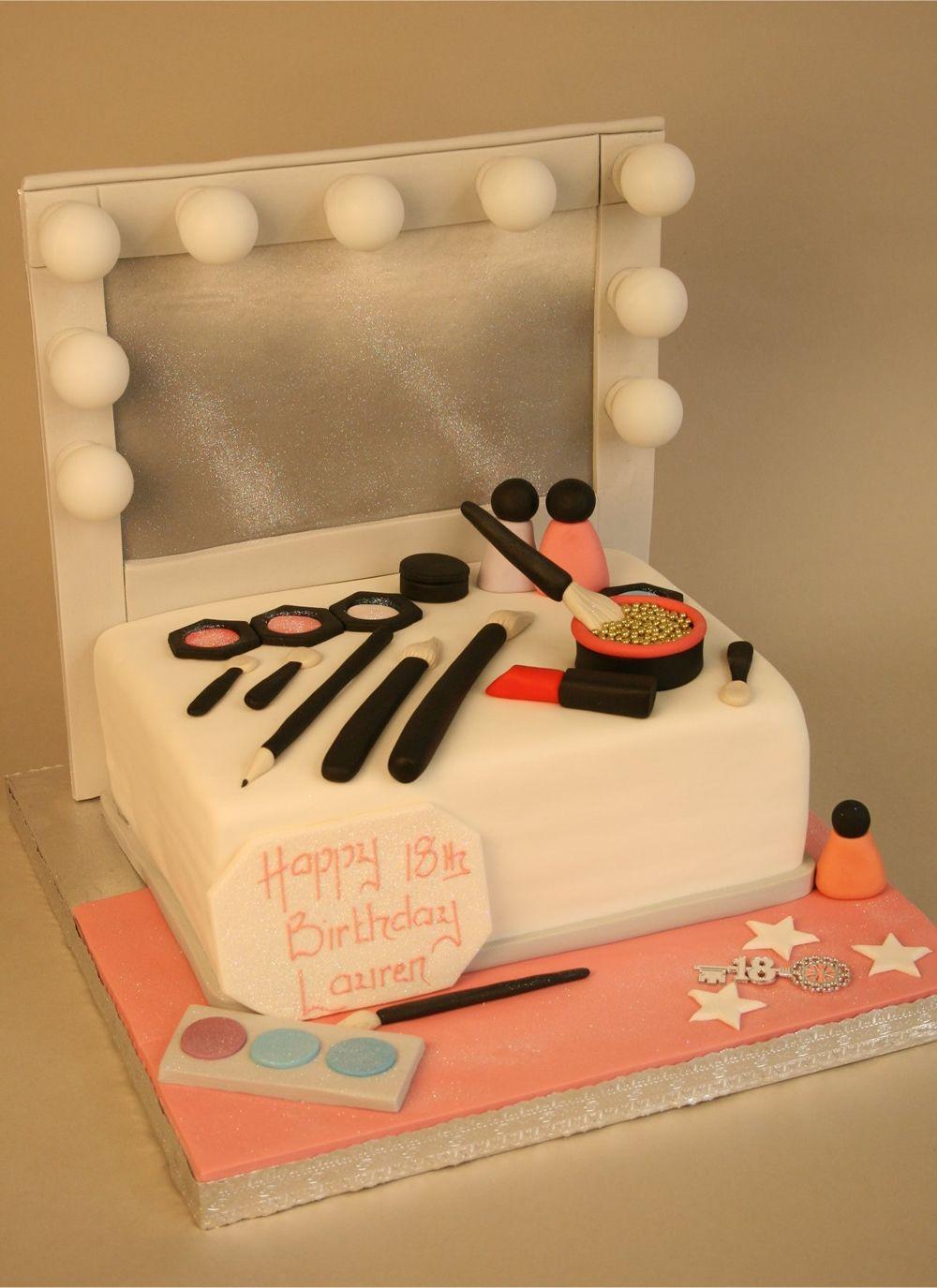 Spotlight Dressing Table cake … Make up cake, Makeup