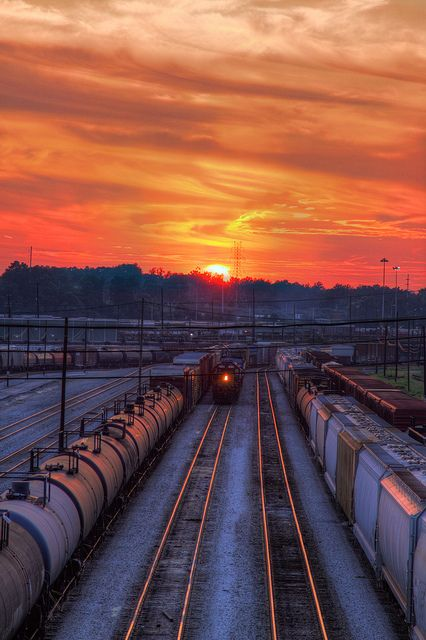 The Other Side of the Tracks, Atlanta by AJ Brustein, via Flickr