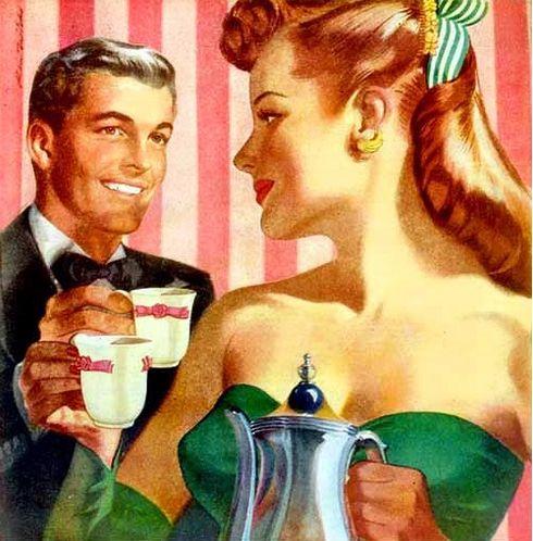♥ The Art of Romance ♥ — the-art-of-romance: Tea, for two - Ren Wicks
