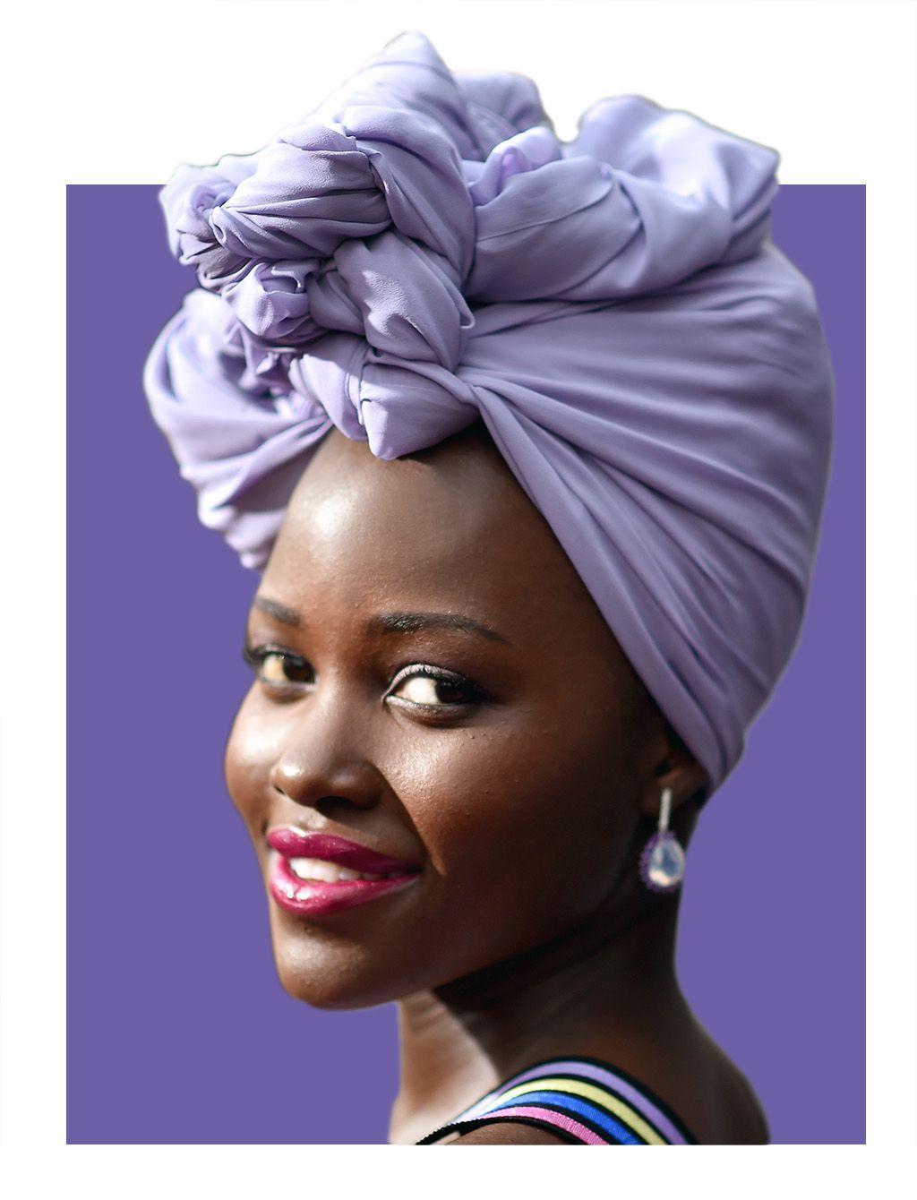 How to Wear Regal Head Wraps Like Lupita Nyong'o