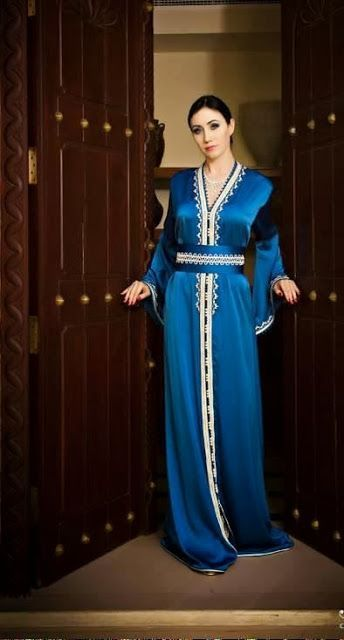 Caftan robe marocain simple  556d31463b3