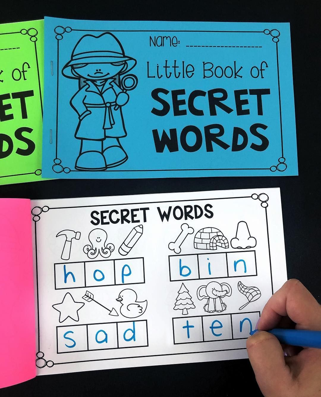 My Teaching Pal On Instagram Secret Word Booklets You