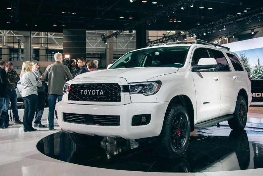 2020 Toyota Sequoia TRD Pro redesign Toyota, Trd, Toyota