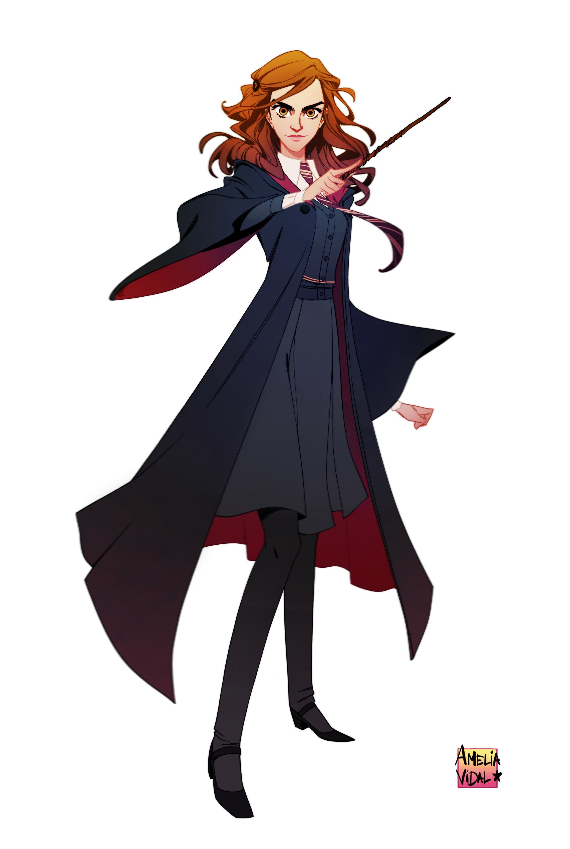 ArtStation - Hermione Granger , Amelia Vidal | Character
