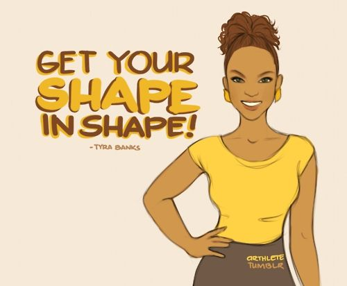 Get your shape in shape!