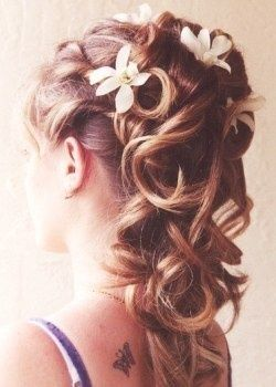 style coiffure mariage cheveux mi long laches coiffure. Black Bedroom Furniture Sets. Home Design Ideas