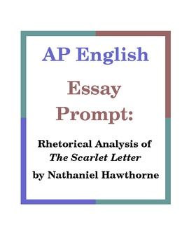 advanced placement english essay prompts The ap english language and composition course focuses on  argumentative writing and the rhetorical analysis of nonfiction texts the ap english literature and composition course focuses on reading, analyzing, and writing about imaginative literature (fiction,  argumentative essays that proceed through several stages or drafts students.