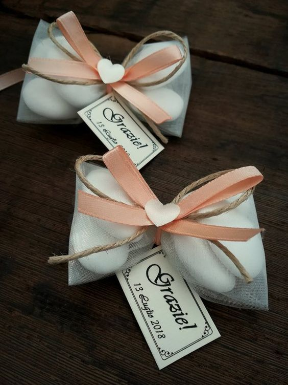 Confetti bianchi matrimonio, confettata mandorla, cerimonia, tag nozze, promessa, nascita, comunione, cresima, sacchetti, tulle, confettate