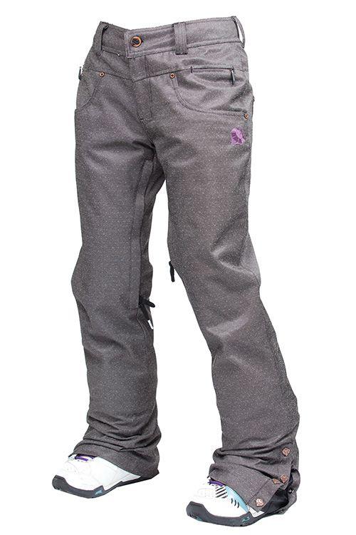 Nomis Skinny Denim Snowboard Pants | All things snow ...