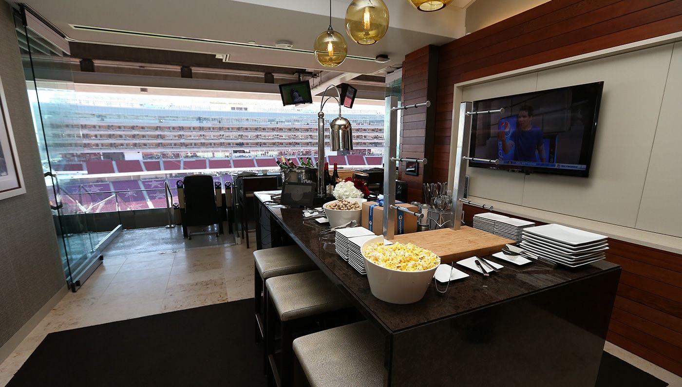 A Luxury Suite At Levi S Stadium In Santa Clara Calif