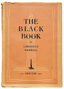 First edition of The Black Book by Lawrence Durrell, 1938