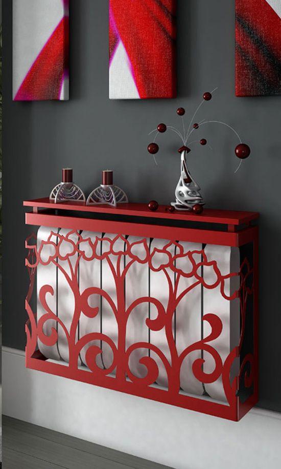 Decoraci n de radiadores radiadores decoraci n y bricolaje - Cortinas encima de radiadores ...