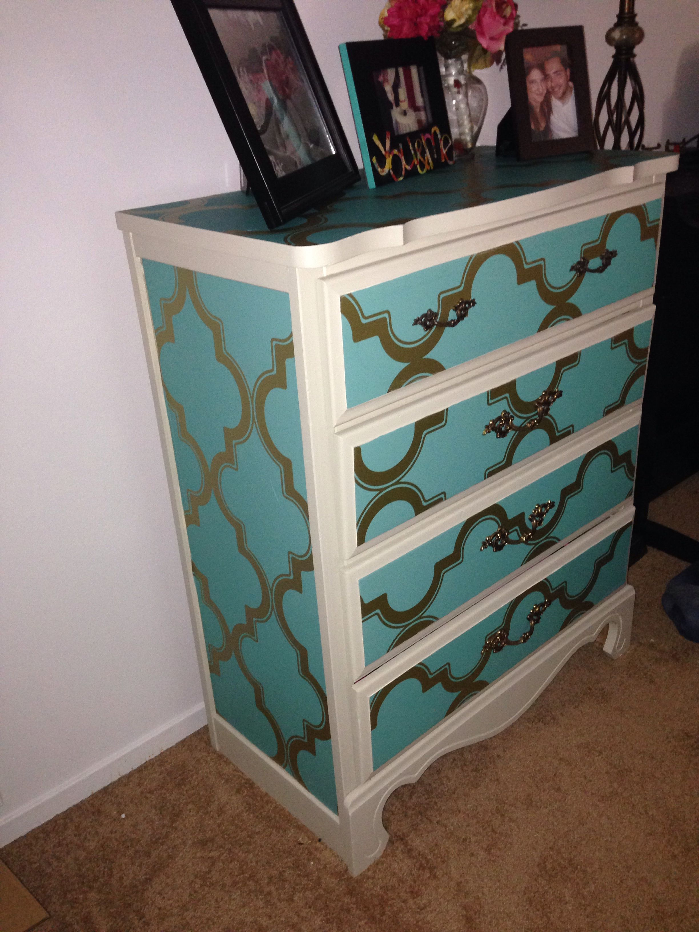 Diy Just Some Paint And Devine Color Wallpaper From Target