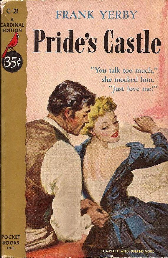 Vintage Pulp Fiction Book Collection - Pride's Castle