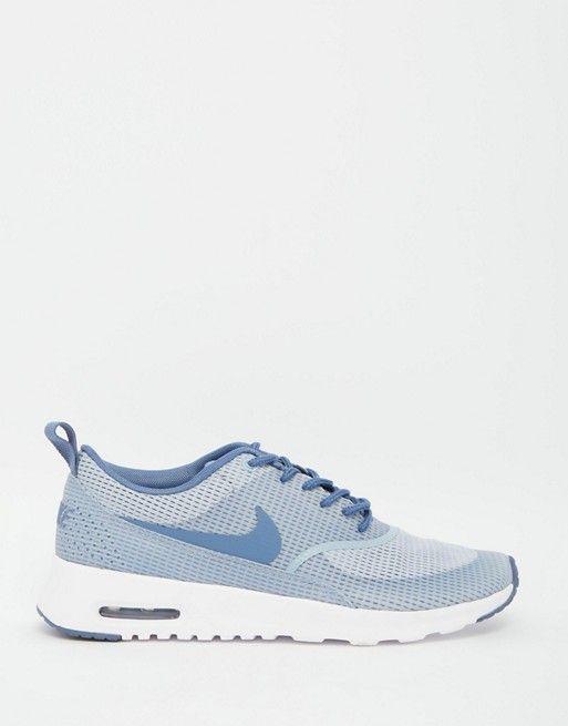 TrainersDe Air Purtat Grey Textured Nike Thea Blueamp; Max 6vfgyIY7b