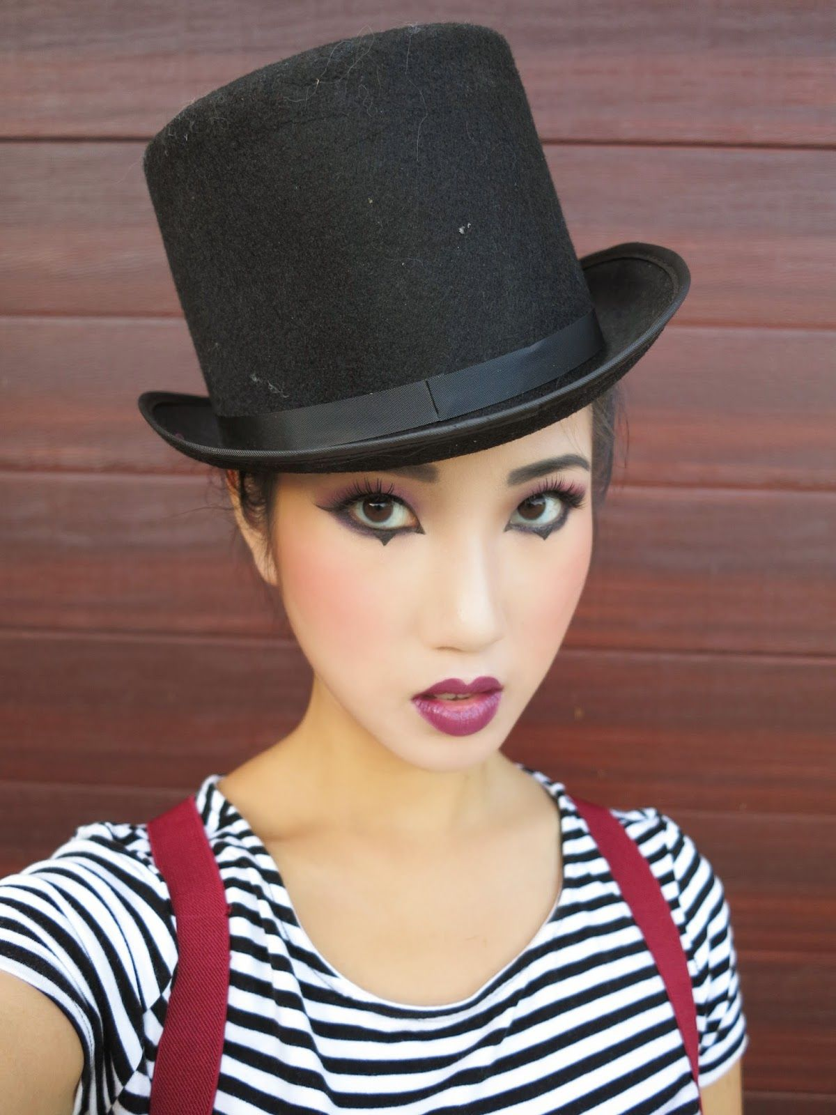 Kimkine Mime Makeup And Costume Mime Makeup Mime