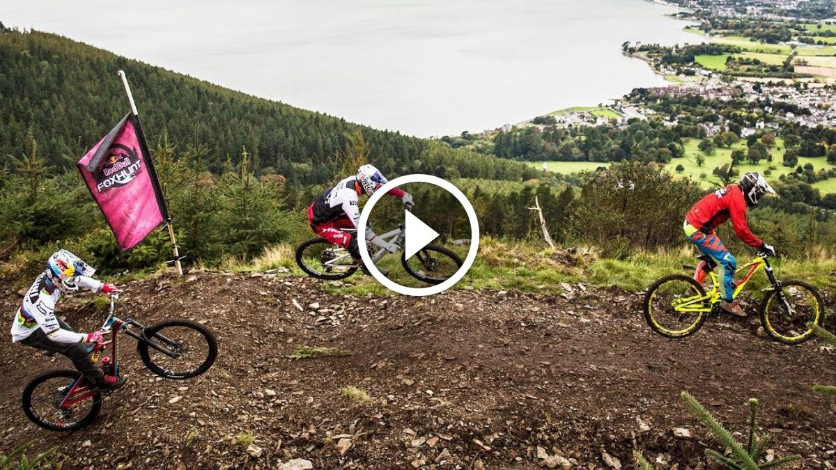 Pov Video Watch Gee Atherton Chase Down 450 Other Riders At Red