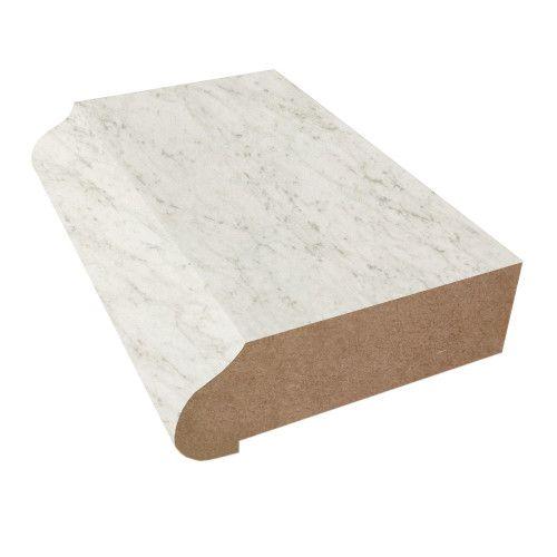 Wilsonart Formica Ogee Edge White Carrara Marble