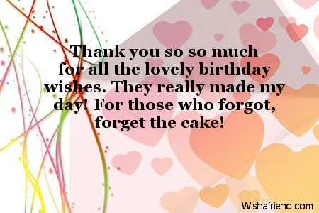 thank you for birthday wishes pictures Google Search – Thanks for the Birthday Greeting