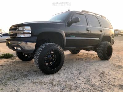 2006 Chevrolet Tahoe 20x14 76mm Full Throttle Ft 1 Chevrolet