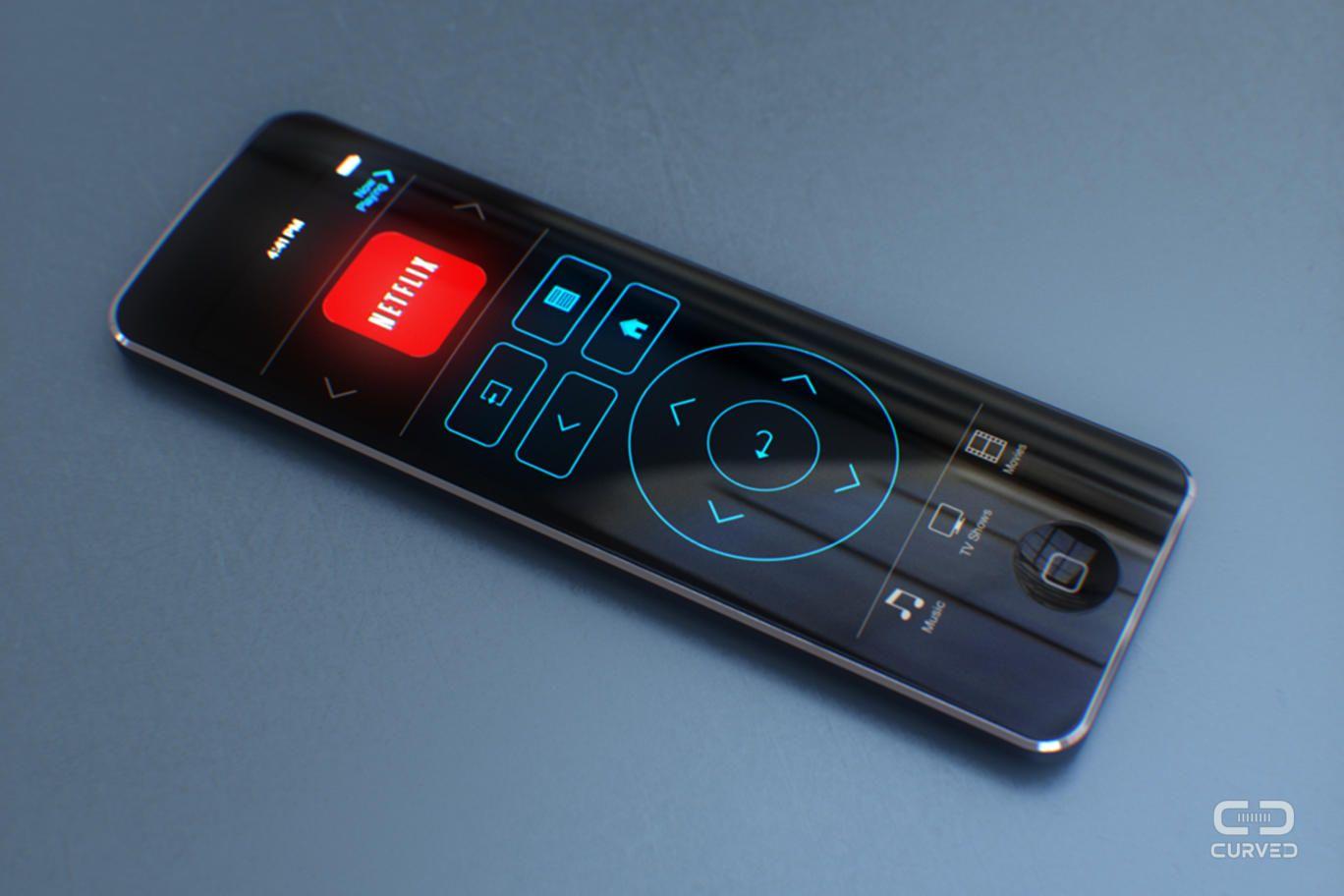 Apple TV touchscreen Remote Concept Apple tv, Fernbedienung