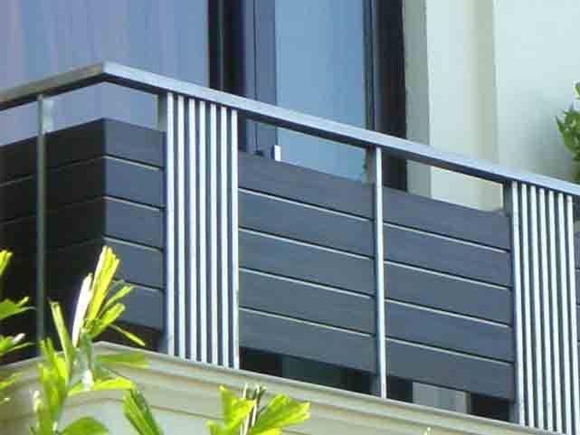 Aluminium Balcony Railing Design