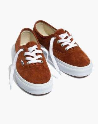 af92baf07a Madewell Vans Unisex Authentic Lace-Up Sneakers in Brown Suede ...