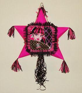 Monster High Pull String Pinata
