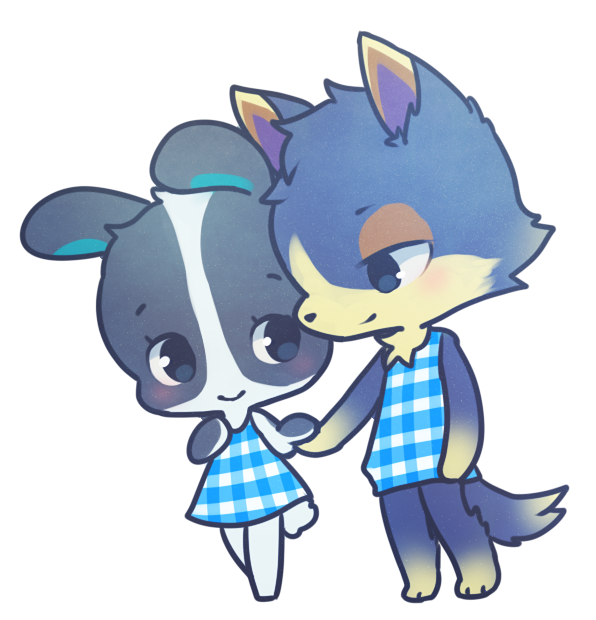 Dotty And Wolfgang Art Animal Crossing Qr Animal Crossing Memes