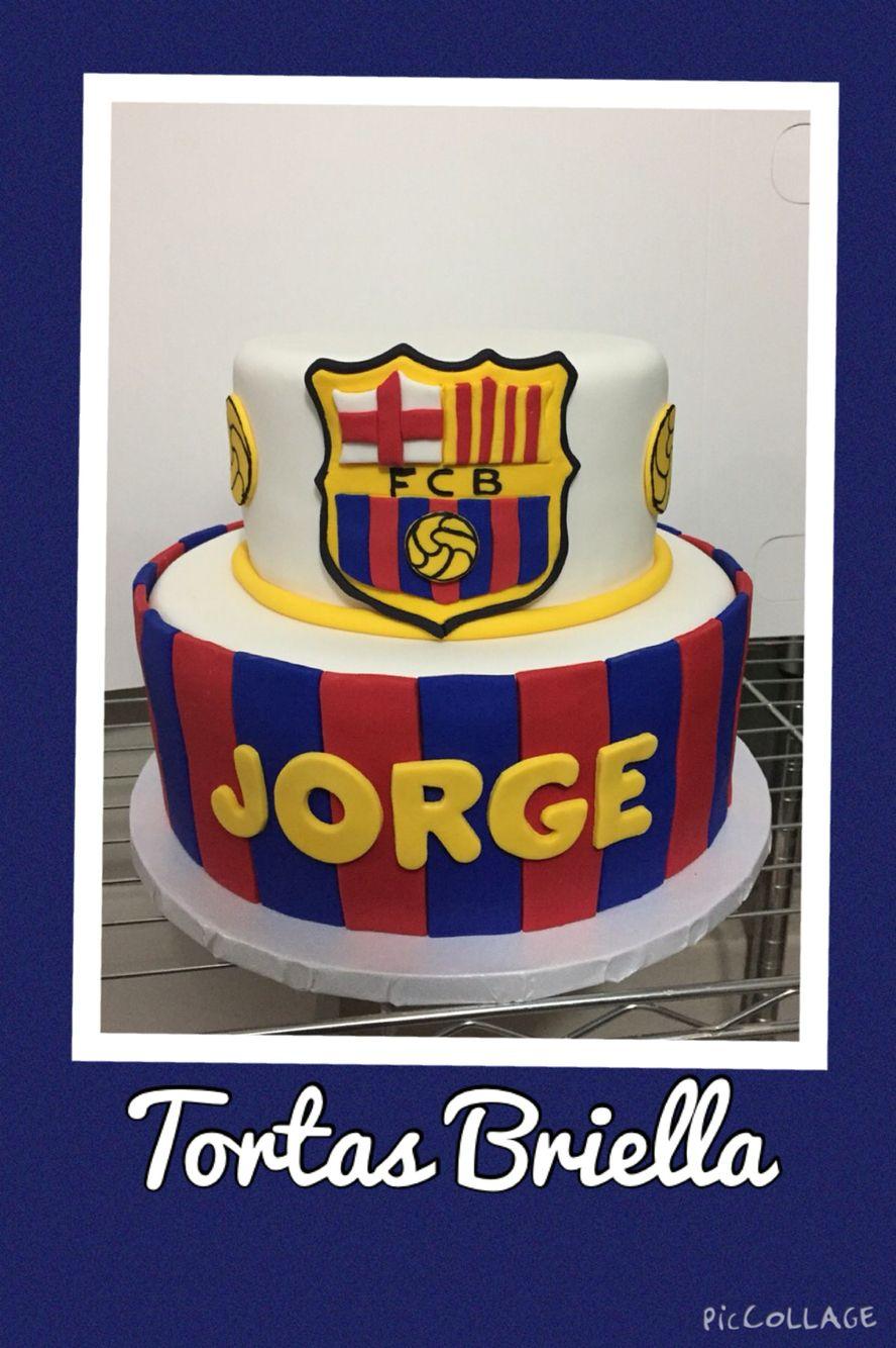 FC Barcelona cake Pinteres