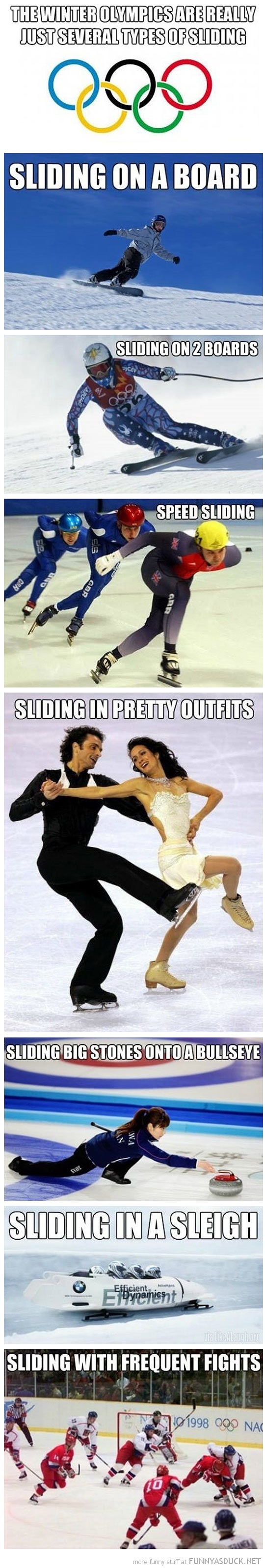 The Winter Olympics Funny pictures, Funny, Funny quotes