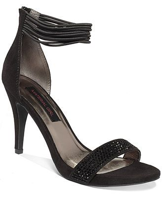Material Girl Ella Two Piece Platform Sandals